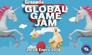 Cartel Global Game Jam Granada Enero 26 - 28