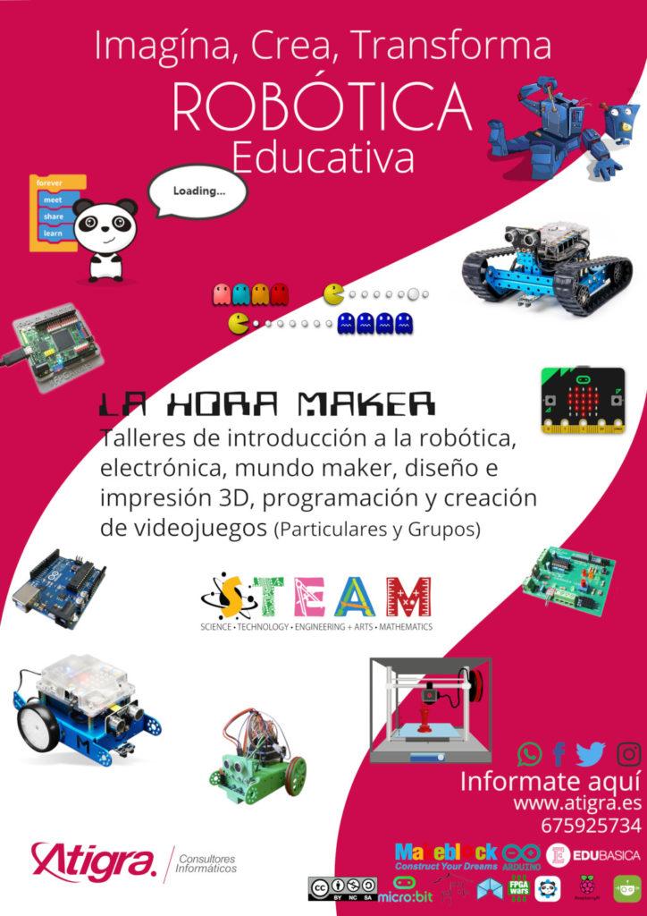 Cartel Taller de Robótica Educativa