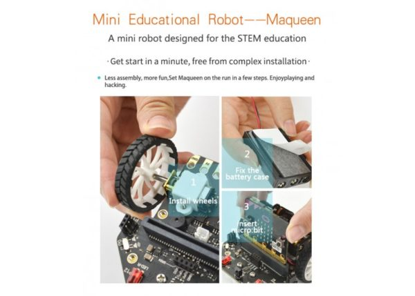 Micro Maqueen para MicroBit